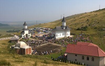 6 august 2021  6 AUGUST 2021(VINERI), PELERINAJ  LA  MĂNĂSTIREA SCHIMBAREA la FAȚĂ  de la CHEILE TURZII