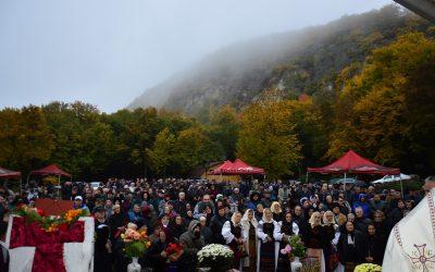 21 octombrie 2022  21 OCTOMBRIE 2022(VINERI), Pelerinaj la Mănăstirea PETRU RAREȘ VODĂ de la Cetatea Ciceului