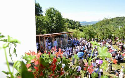 iulie 2021  IULIE 2021(duminică), PELERINAJ  la  MĂNĂSTIREA SFÂNTUL IERARH SPIRIDON de la STRÂMBA-(JOSENII BÂRGĂULUI BISTRIȚA)